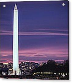 Washington Monument Acrylic Print by Cindy Lark Hartman