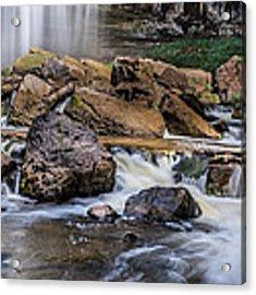 Webster Falls Acrylic Print by Garvin Hunter