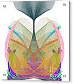 Whale's Tale - Ticker Symbol Wtsla Acrylic Print by Stephen Coenen