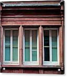 Windows Acrylic Print by Tom Gowanlock