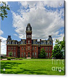 Woodburn Hall Early Afternoon Summer Day Acrylic Print by Dan Friend