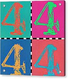 16 Acrylic Print
