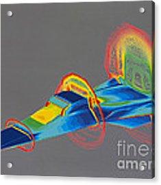 Hyperx Hypersonic Aircraft Acrylic Print