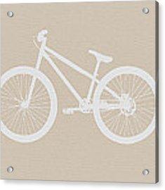 Bicycle Brown Poster Acrylic Print
