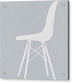 Eames Fiberglass Chair Acrylic Print by Naxart Studio