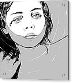 Girl In The Water Acrylic Print