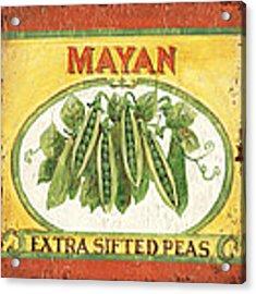 Mayan Peas Acrylic Print