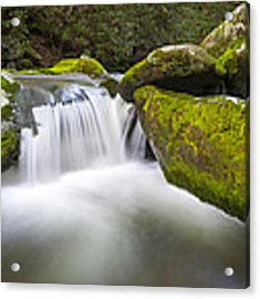 Roaring Fork Great Smoky Mountains National Park - The Simple Pleasures Acrylic Print