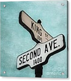 second Avenue 1400 Acrylic Print by Priska Wettstein