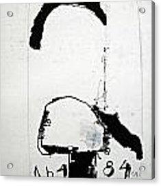 Sketchbook 1  Pg1 Acrylic Print by Cliff Spohn