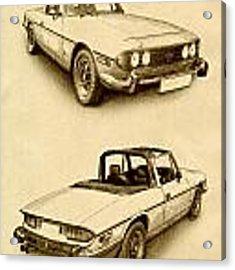 Triumph Stag Acrylic Print