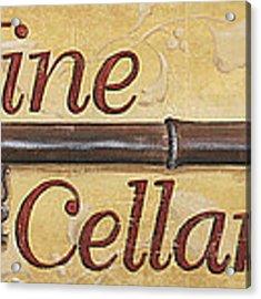 Wine Cellar Acrylic Print