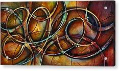 ' Dizzy ' Acrylic Print by Michael Lang