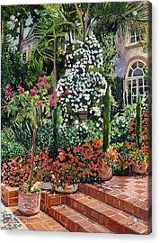 A Garden Approach Acrylic Print