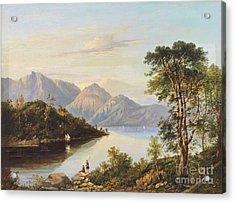 A Highland Loch Landscape Acrylic Print