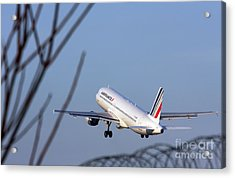 Air France Airbus A320 - Msn 491-002 - F-gjvw  Acrylic Print