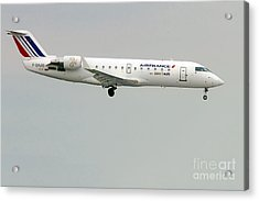 Air France By Britair Canadair- Msn 7321- F-grjq  Acrylic Print