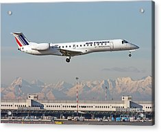 Air France Regional Airlines Embraer Erj-145eu - F-grgf  Acrylic Print