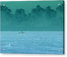 Approaching Storm  Acrylic Print by Florene Welebny