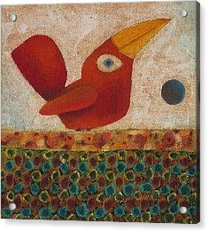 Barba Ruiva - Red Beard Acrylic Print by Rogerio Dias