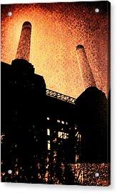 Battersea Power Station Acrylic Print by David Studwell