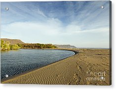 Beach In Costa Rica Acrylic Print by Juan Carlos Vindas