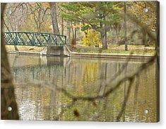 Bridge Revealed Acrylic Print by Robert Joseph