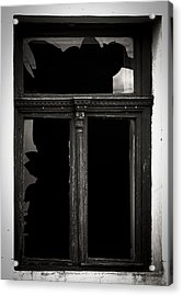 Broken Window Acrylic Print by Calinciuc Iasmina