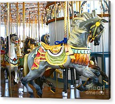 Carousel C Acrylic Print