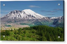 Castle Lake And Mt. St. Helens Acrylic Print