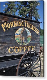 Coffee Wagon Acrylic Print by Brent Easley