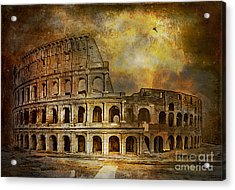 Colosseum Acrylic Print by Andrzej Szczerski