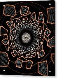 /dev/null Acrylic Print by Anastasiya Malakhova