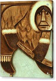 Tommervik Eskimo Hockey Player Art Print Acrylic Print