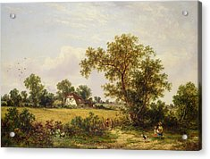 Essex Landscape  Acrylic Print by James Edwin Meadows