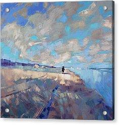 Acrylic Print featuring the painting  Eternal Wanderers by Anastasija Kraineva