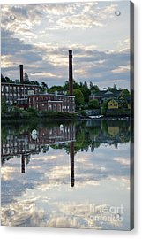 Exeter New Hampshire Usa Acrylic Print by Erin Paul Donovan