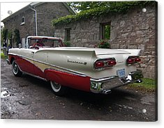 Ford Fairlane  Acrylic Print by Guy Whiteley