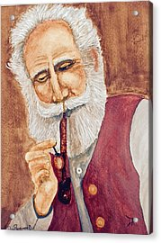 German With Pipe No. 2 Acrylic Print