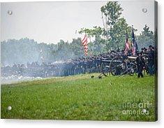 Gettysburg Union Infantry 9968c Acrylic Print