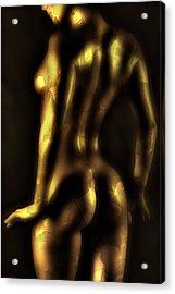 Glow Acrylic Print by Naman Imagery