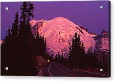 Highway To Sunrise Acrylic Print