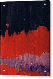 Horizon Unknown Acrylic Print by Anne-Elizabeth Whiteway