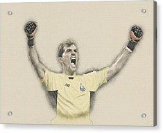 Iker Casillas  Acrylic Print