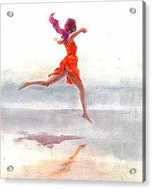 Juno On The Beach Acrylic Print