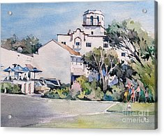 Laguna Beach Hotel - California Acrylic Print