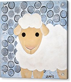 The Blessing Of The Lamb Acrylic Print