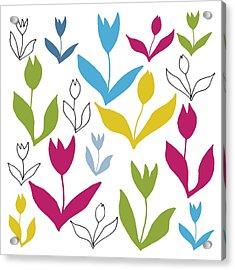 Le Cateau Acrylic Print by Sarah Hough