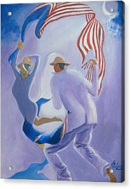Liberty Chased By A Slave Observed By The Union  Acrylic Print