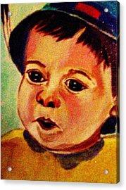 Lucas Le Petit Tournesol Acrylic Print